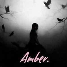 Amber.